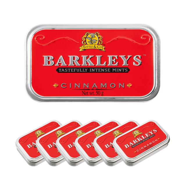 Barkleys クラシックミントタブレット(シナモン味)50g×6個セット