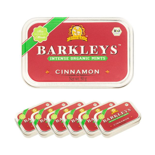 Barkleys オーガニックタブレット(シナモン味)50g×6個セット