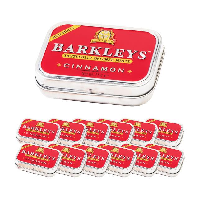 BARKLEYS シュガーフリータブレット(シナモン味)15g×12個 セット