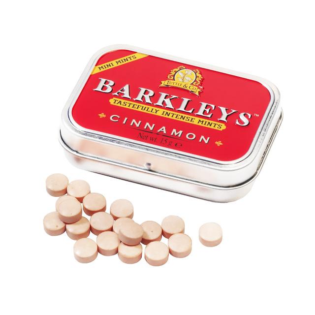 BARKLEYS シュガーフリーミントタブレット(シナモン味)
