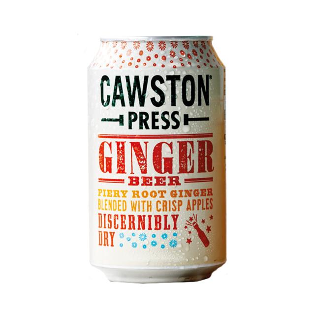 CAWSTON スパークリング アップル&ジンジャービア 59%りんご果汁入り飲料(炭酸ガス入り)330ml