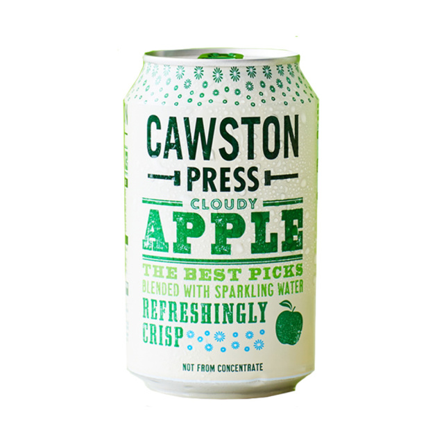 CAWSTON スパークリング クラウディアップル 60%りんご果汁入り飲料(炭酸ガス入り)330ml