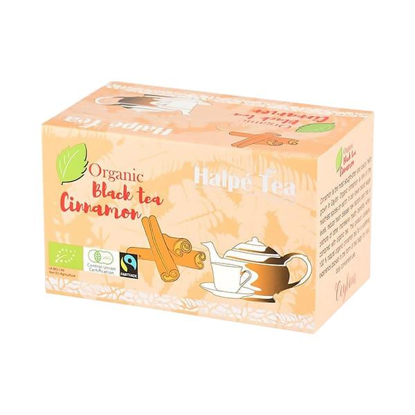 Halpe Tea 有機フェアトレード・シナモンブラックティー(ティーバッグ) 40g(2g×20袋) 有機紅茶