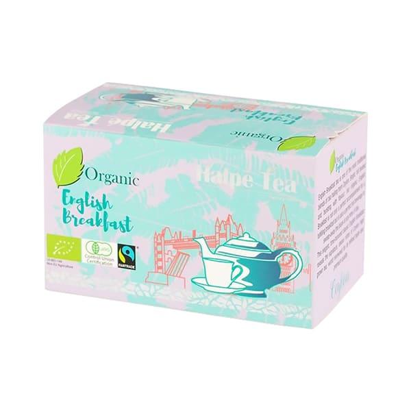 Halpe Tea 有機フェアトレード・イングリッシュブレックファストティー(ティーバッグ) 40g(2g×20袋) 有機紅茶