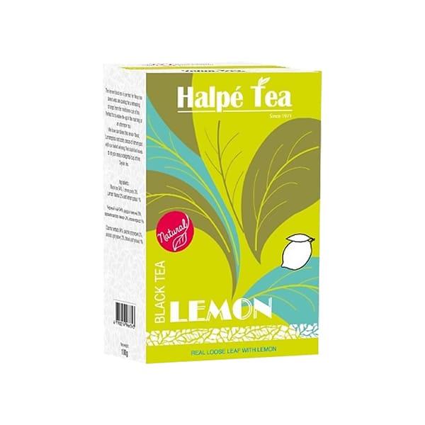 Halpe Tea レモン・ブラックティー(リーフ) 100g 紅茶(フレーバードティー)