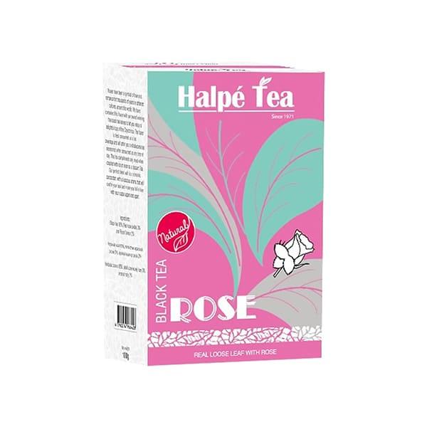 Halpe Tea ローズ・ブラックティー(リーフ) 100g 紅茶(フレーバードティー)