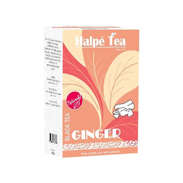 Halpe Tea ジンジャー・ブラックティー(リーフ) 100g 紅茶(フレーバードティー)