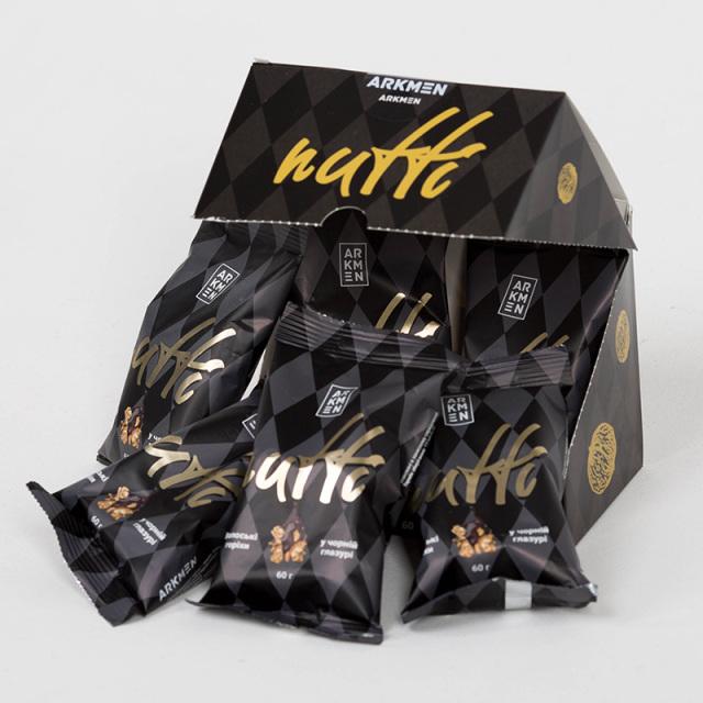 Arkmen アルクメン Nutti ウォールナッツ ダークチョコレート (袋) チョコ ナッツ くるみ