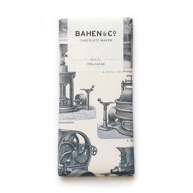 BAHEN & Co. 70% ブラジルダークチョコレートバー