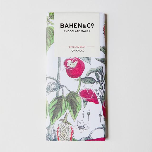 BAHEN & Co. 70% チリ&シーソルトダークチョコレートバー