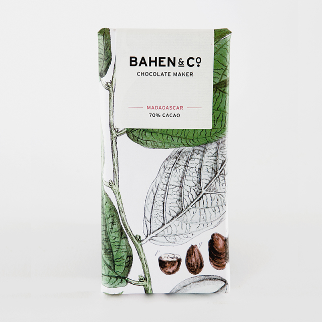 BAHEN & Co. 70% マダガスカルダークチョコレートバー