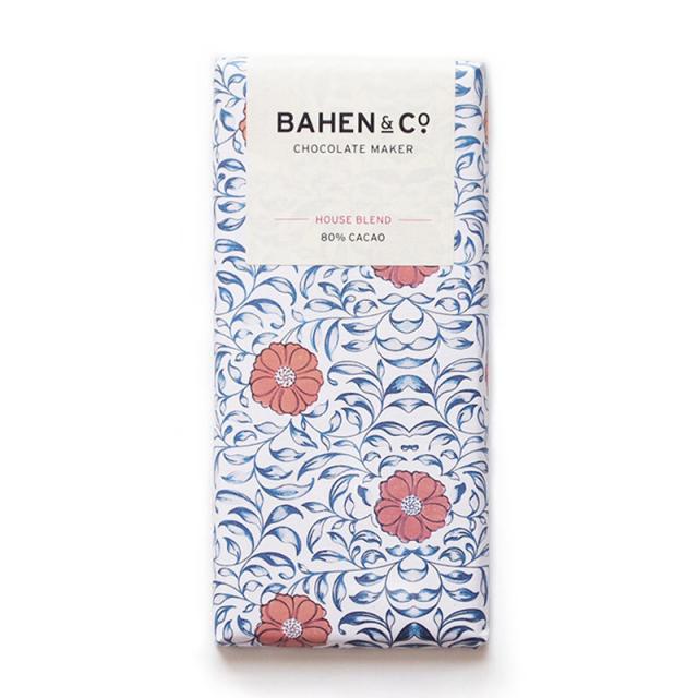 BAHEN & Co. 80% ハウスブレンドダークチョコレートバー