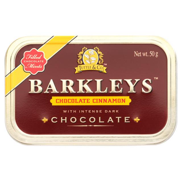 チョコレート(シナモン) 50g チョコレート ポーランド チョコ BARKLEYS バークレイズ