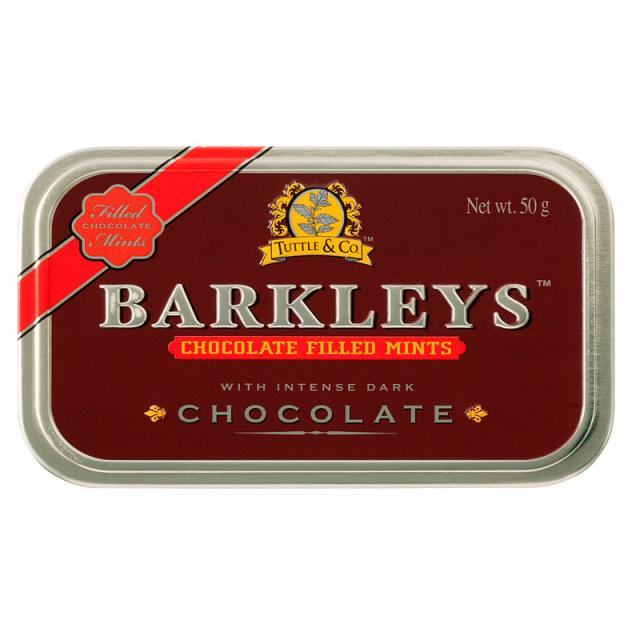 チョコレート(ペパーミント) 50g チョコレート ポーランド チョコ BARKLEYS バークレイズ