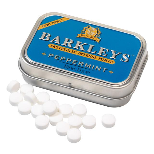 シュガーフリーミント(ペパーミント味) 15g 清涼菓子 ドイツ タブレット BARKLEYS バークレイズ