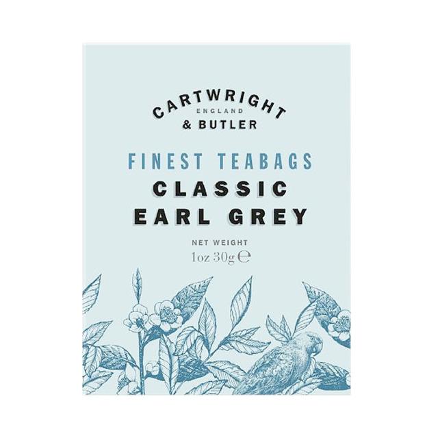アールグレイ CARTWRIGHT&BUTLER≪カートライトアンドバトラー≫ 紅茶(ティーバッグ) 小カートン イギリス 輸入