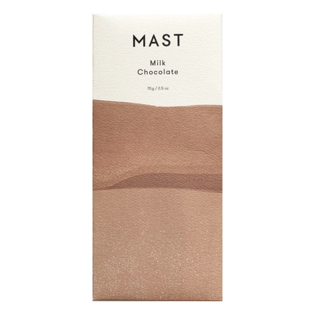 ミルクチョコレート70g milk chocolate MAST Brothers, Inc.