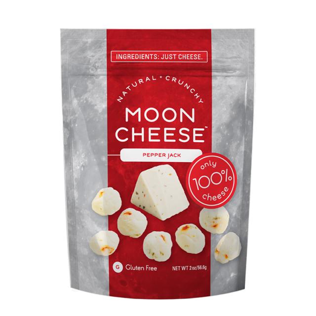 MOON CHEESE PEPPER JACK ムーンチーズ ペッパージャック チーズスナック 57g  輸入 お菓子 アメリカ スナック菓子 おつまみ