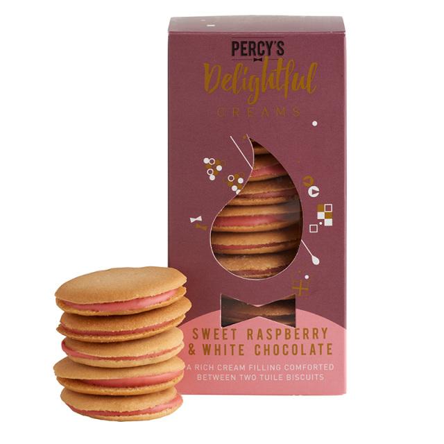 サンドビスケット ラズベリー&ホワイトチョコレート Percy's Bakary