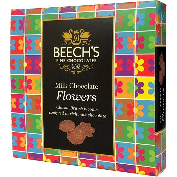 ミルクチョコレート アソート Beech's ビーチス Fine Chocolates Milk Chocolate Flowers 90g Single Box