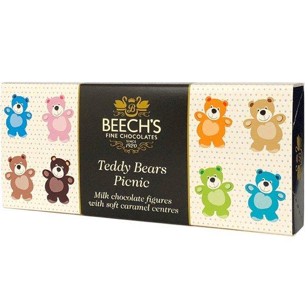Beech's ビーチス Seasonal Offering テディベアピクニック(キャラメルミルクチョコレート)