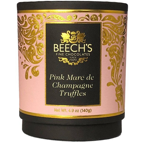 Beech's ビーチス Posh Hat Box ピンクシャンパントリュフ