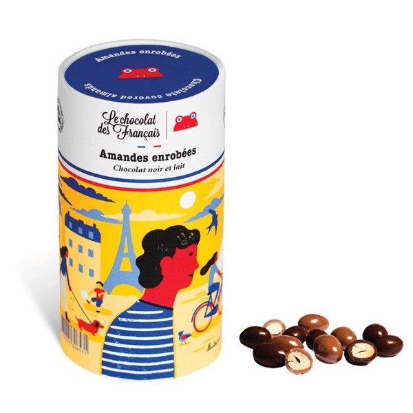 Le chocolat des Francais (ル・ショコラ・デ・フランセ) アーモンドチョコレート チョコ フランス