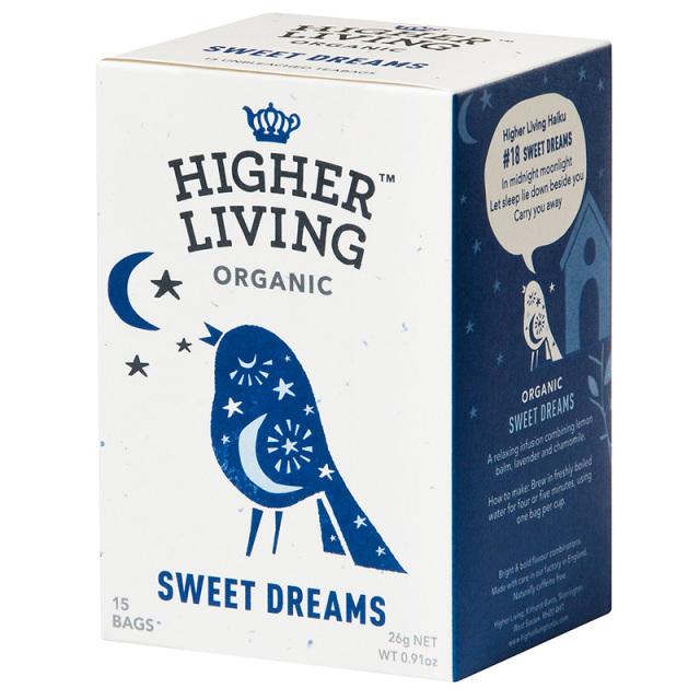 HIGHER LIVING ハイヤーリビング 有機スイートドリームティー 1.73g×15TB