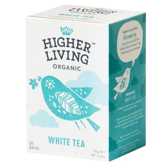 HIGHER LIVING ハイヤーリビング 有機白茶 1.75g×20TB
