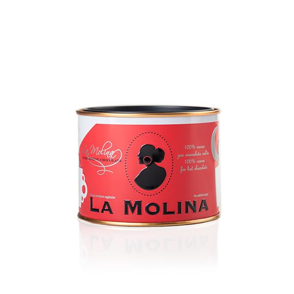 ダークホットチョコレート カカオ100% 無糖 ラ・モリーナ 350g La Molina S.r.l. イタリア 輸入 チョコ チョコレート