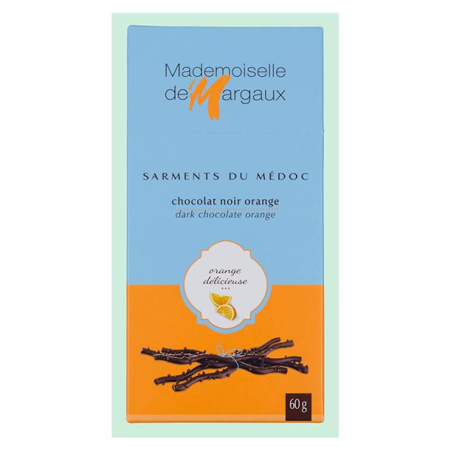 サルマン・デュ・メドック ダークチョコレート オレンジ 60g Mademoiselle de Margaux SAS フランス 輸入 チョコ チョコレート