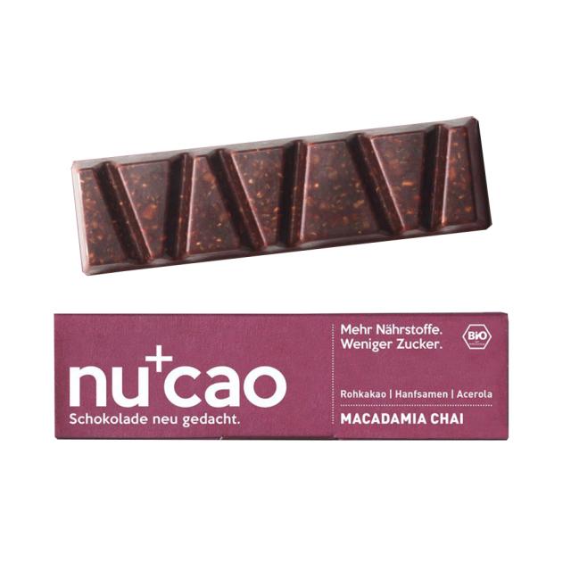 マカダミアナッツ・チャイ Macadamia Chai 40g the nu company GmbH ドイツ 輸入 チョコ チョコレート