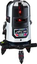 ムラテックKDS 高輝度 オートラインレーザー墨出器 ATL-96RSA 受光器・三脚付 送料無料