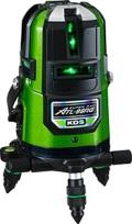 ムラテックKDS 高輝度リアルグリーン オートラインレーザー墨出器 ATL-96RG 本体のみ 送料無料