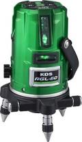 ムラテックKDS 高輝度リアルグリーン オートラインレーザー墨出器 RGL-60 本体のみ 送料無料