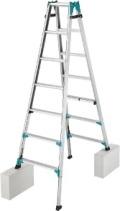 長谷川工業(ハセガワ) 脚部伸縮式はしご兼用脚立 RYH ニューラビット RYH-21 期間限定セール 送料無料