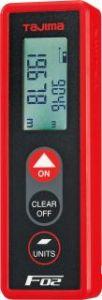 タジマ レーザー距離計 F02 赤
