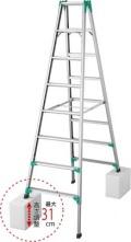 長谷川工業(ハセガワ) 脚部伸縮式はしご兼用脚立 RYZ1.0-09 期間限定セール 送料無料