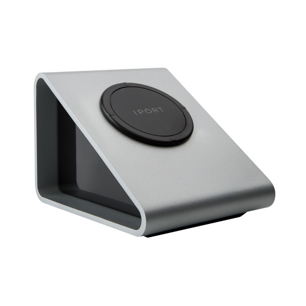 IPORT テーブルトップタイプ非接触充電台 【対応モデル: LAUNCH Case】 LAUNCH BassStation Silver 【製品番号: 70141】