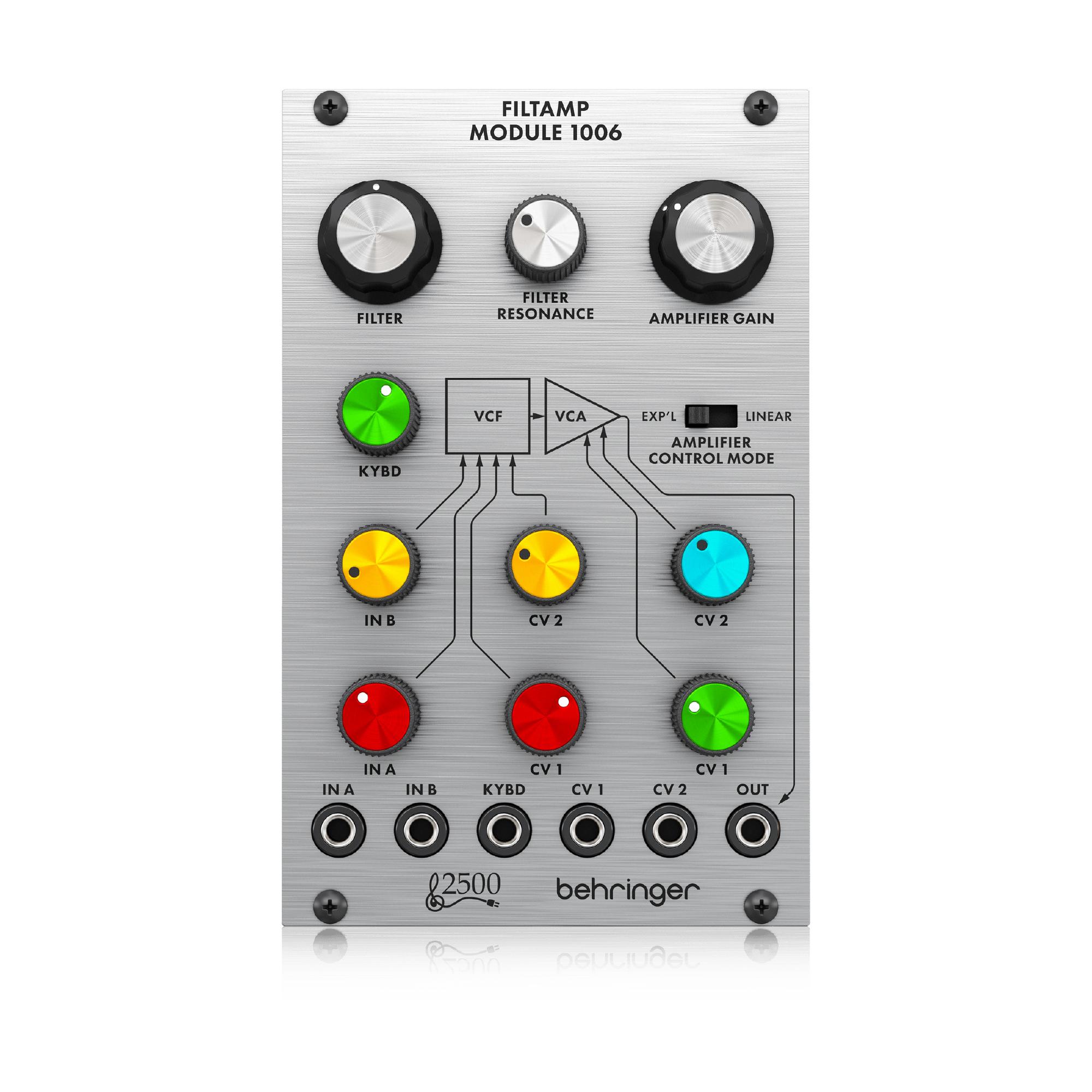 ベリンガー Behringer FILT AMP MODULE 1006