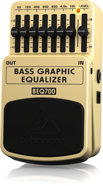 ベリンガー Behringer BEQ700 BASS GRAPHIC EQUALIZER