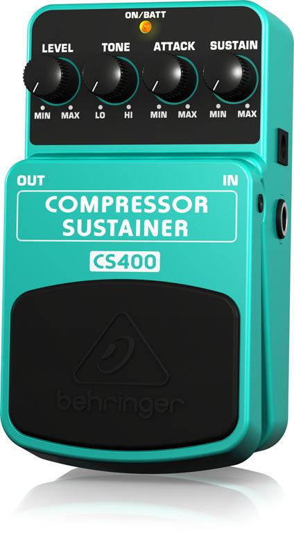 【アウトレット品】 ベリンガー Behringer CS400 COMPRESSOR/SUSTAINER ※デモ処分