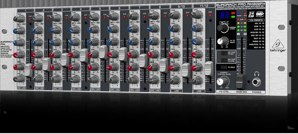 ベリンガー Behringer RX1202FX EURORACK PRO