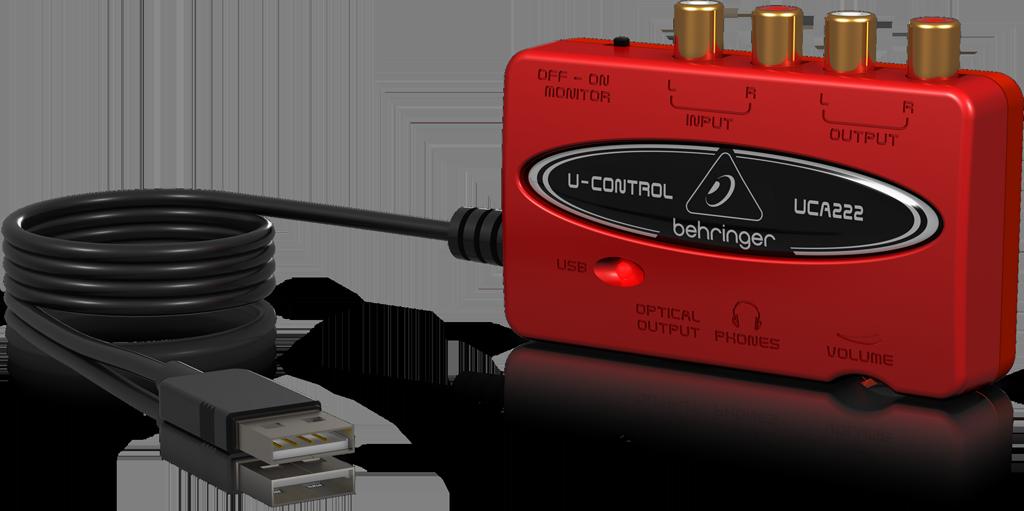 ベリンガー Behringer UCA222 U-CONTROL