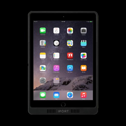 "iPort 非接触充電プロテクトケース (対応機種:iPad 第7世代10.2""、iPad Air 10.5"")LAUNCH Case 10.2"" / 10.5"" Black (製品番号: 70390)"