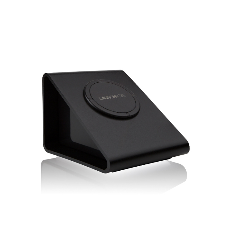 iPort テーブルトップタイプ非接触充電台 (対応モデル: LaunchPort Sleeve) LaunchPort BassStation Black (製品番号: 70158)