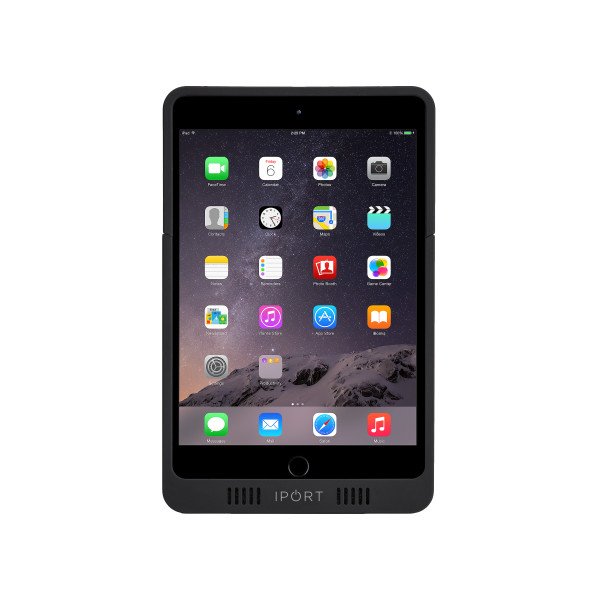 IPORT 非接触充電プロテクトケース 【対応機種: iPad mini 4、iPad mini(第5世代)】 LAUNCH AM.2 Case Black 【製品番号: 70304】