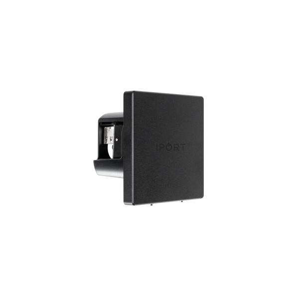 IPORT ウォールマウントタイプ充電台 【対応機種: LUXE Case】 LUXE WallStation Black 【製品番号: 71003】
