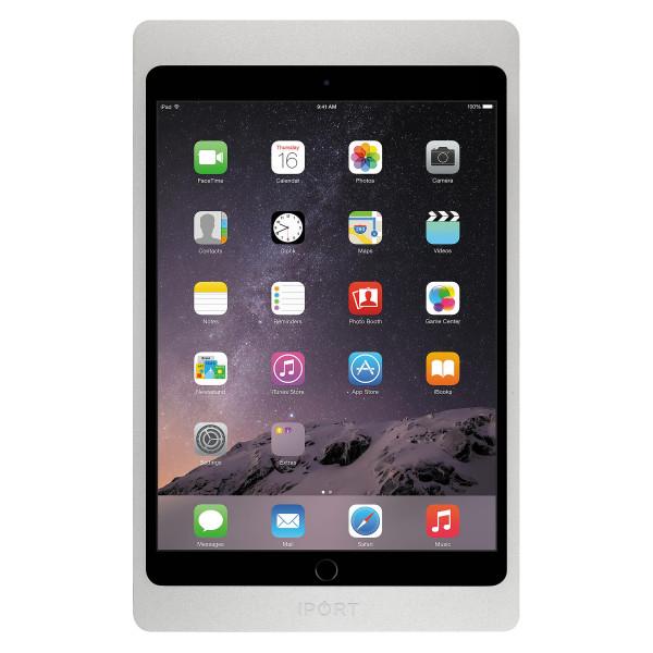 IPORT 充電セキュリティケース 【対応機種: iPad(第7世代)10.2インチ、iPad Air(第3世代)10.5インチ、iPad Pro 10.5インチ】  LUXE Case 10.2   10.5 Silver (製品番号: 71016)