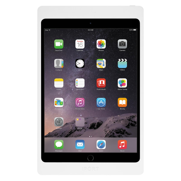 IPORT 充電セキュリティケース 【対応機種: iPad(第7世代)10.2インチ、iPad Air(第3世代)10.5インチ、iPad Pro 10.5インチ】 LUXE Case 10.2 | 10.5 White (製品番号: 71017)